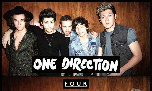 One Direction's 'Four' Debuts At No.1 Across The Globe