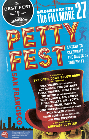 New Artists Added To Petty Fest San Francisco Lineup For February 27th 2013