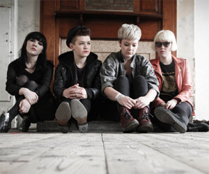 Pins Announce Debut Album  'Girls Like Us'  Released 30th September 2013