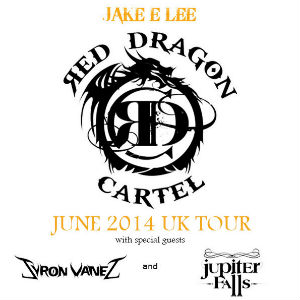 Jake E. Lee's Band Red Dragon Cartel Announce June 2014 UK Tour