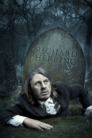 Richard Herring Announces 2013 Tour 'We're All Going To Die!'