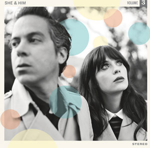 She & Him Announce Their Third Album 'Volume 3' To Be Released May 13th 2013