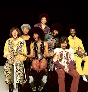 Sly And The Family Stone  Honored As Legacy Recordings' Artist Of The Month For March 2013