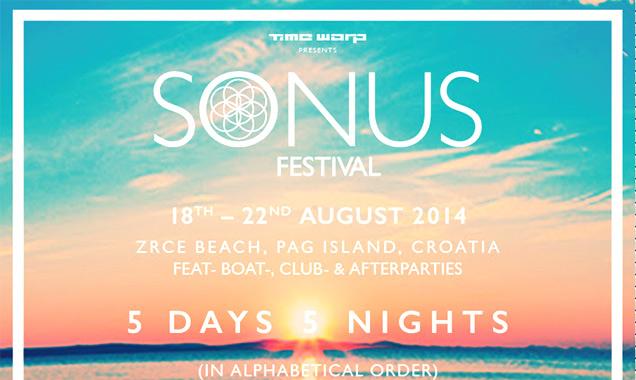 Sonus Festival 2014 Announces Full Lineup - Cosmopop Brings Techno's Finest To Croatia