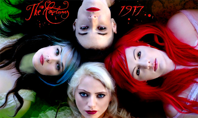 The Courtesans Releases Stream Of Hazy Doompop Track 'Lullaby' Their Debut Album '1917' [Listen]