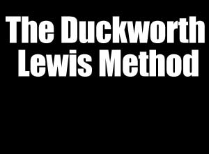 The Duckworth Lewis Method Bat For Britain With 8-Date September 2013 UK Tour