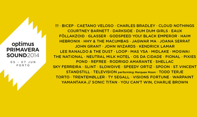 The National, Mogwai, Slowdive, Pixies, Kendrick Lamar And More Announced For Optimus Primavera Sound 2014