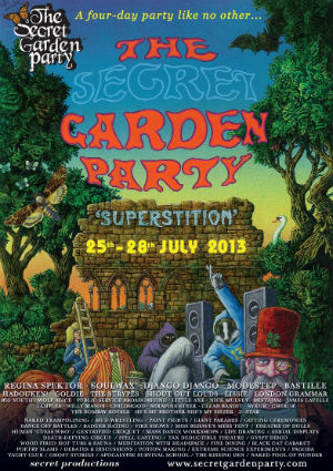 The Secret Garden Party Announce More Line Up For 2013 And Other News