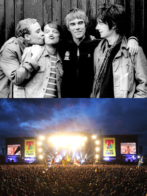 The Stones Roses Confirmed To Headline T In The Park 2012