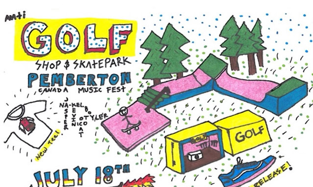 Tyler, The Creator Announces Golf Wang X Vans Collaboration And Pop-up Shop At Pemberton