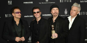 U2'S Song 'Invisible' Gets 3.13 Million Downloads For (Red)