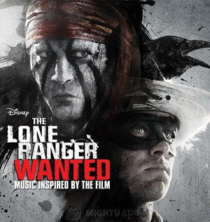 Walt Disney Records And (Red) Join Forces To Fight Aids In Sub-saharan Africa With Special Edition Album The Lone Ranger: Wanted Released August 5 2013