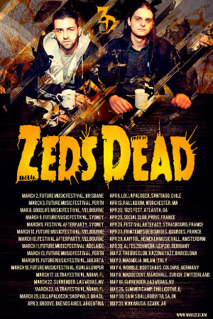 Zeds Dead Announce 2013 World Tour And Bbc Radio 1 Essential Mix
