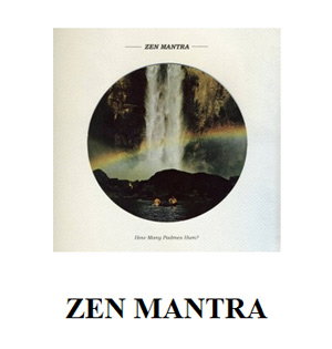 Zen Mantra Announces Debut Album 'How Many Padmes Hum?'