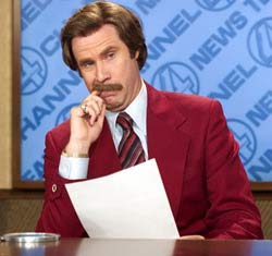 Anchorman: The Legend Of Ron Burgundy Movie Still