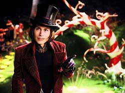 Charlie & The Chocolate Factory Movie Review