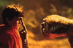 E.T. The Extra-Terrestrial Movie Still