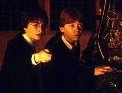 Harry Potter & The Chamber Of Secrets Movie Still