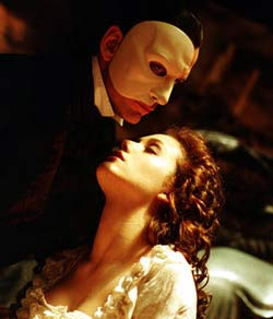 Andrew Lloyd Webber's The Phantom Of The Opera Movie Review