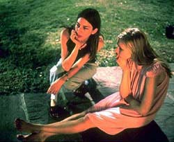 Sofia Coppola follows in father's brilliant footsteps, writing and directing 'The Virgin Suicides'