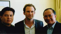 Director John Woo, stars Christian Slater and Roger Willie discuss the emotion and authenticity of 'Windtalkers'