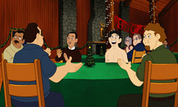 Eight Crazy Nights Movie Review