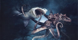 Mega Shark vs Giant Octopus Movie Still