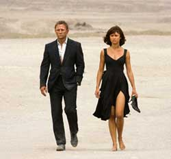Quantum of Solace Movie Review