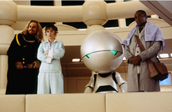 The Hitchhiker's Guide to the Galaxy Movie Still