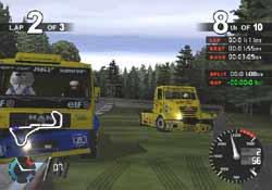 Super Trucks PlayStation 2 title @ www.contactmusic.com