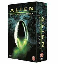 Film - Bursting out of your TV... Alien Quadrilogy…specially bred for DVD