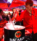 Bacardi B-Bar - Win weekend camping tickets - The Carling Weekend: Reading festival in 2005