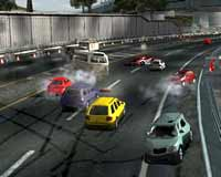 Burnout 2 Review On PS2 @ www.contactmusic.com