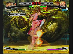 Capcom vs. SNK Pro PSone  screen shots @ www.contactmusic.com