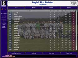Championship Manager Screenshots on PC @ www.contactmusic.com
