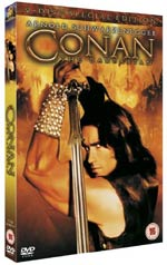 CONAN THE BARBARIAN - THE 2 DISC SPECIAL EDITION IS BURSTING ONTO DVD!
