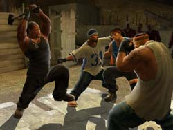 DEF JAM: FIGHT FOR NEW YORK - PS2 Screenshots