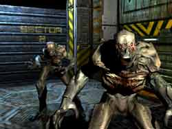 Doom 3  Xbox Screenshots