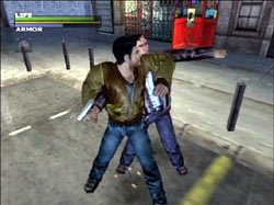 Dead to Rights Screenshots PS2