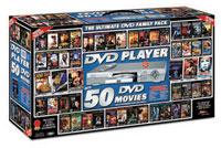 Win a DVD player + 50 DVD titles