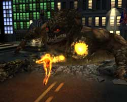 Fantastic Four - Screenshots PS2 - Activision