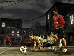 FIFA Street 2 - Screenshots PS2 - EA Sports