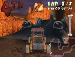 The Flintstones in Viva Rock Vegas™ On Gamecube Available @ www.contactmusic.com