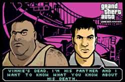 Grand Theft Auto - Gameboy Advance screenshots
