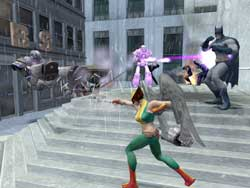 Justice League Heroes - Eidos - Screenshots PS2