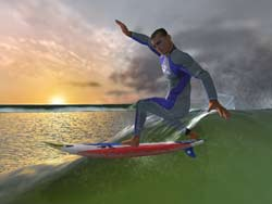 KELLY SLATER'S PRO SURFER™ ON XBOX @ www.contactmusic.com