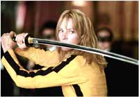 Film - Kill Bill - Tarantino's kung-fu homeage reviewed