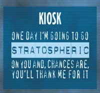 Kiosk release of their debut single - 'Stratospheric' - Listen Now