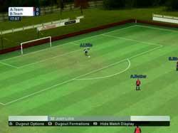LMA Manager 2006 - PS2 Screenshots