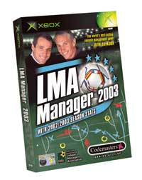 LMA Manager 2003 Reviewed on XBOX  @ www.contactmusic.com